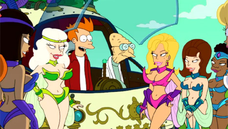 FUTURAMA 6.07 'The Late Philip J. Fry'