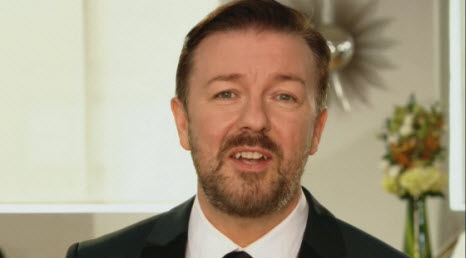 Ricky Gervais on the Golden Globes