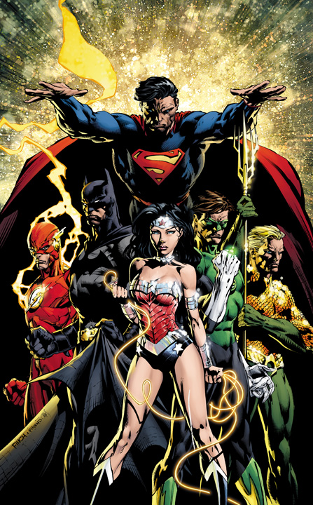 Justice League #1 variant
