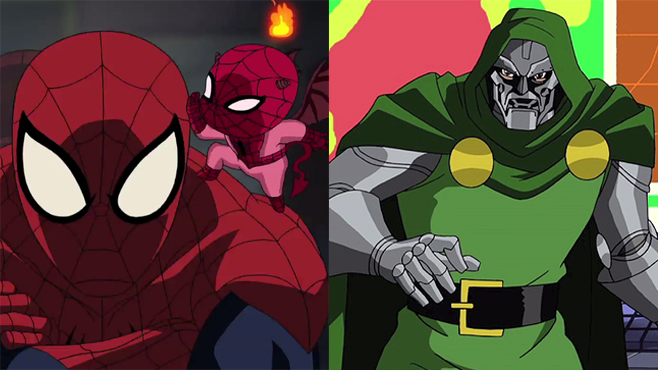 Ultimate Spider-Man and Avengers: Earth's Mightiest Heroes