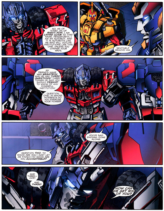 Transformers: Chaos Theory
