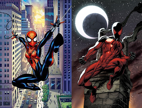 Spider-Girl Scarlet Spider