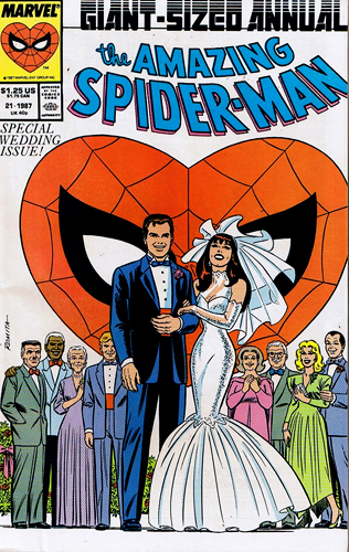 Spider-Man Marriage