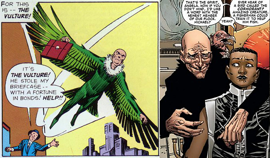 Vulture then and now