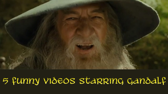 5 Funny Videos Starring Gandalf - Mandatory