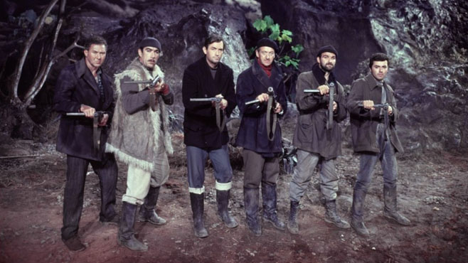 The Top Ten 'Men on a Mission' Movies - Mandatory