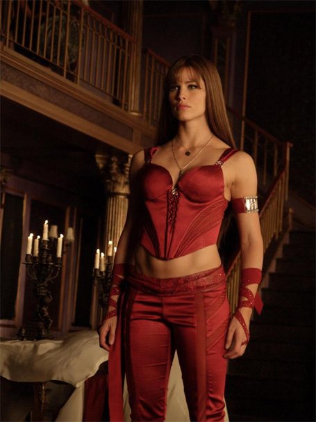 Elektrau0027s original black costume in  Daredevil  wasnu0027t that bad. But when it came time to headline her own film in  Elektra  we got this.  sc 1 st  Mandatory : elektra halloween costumes  - Germanpascual.Com